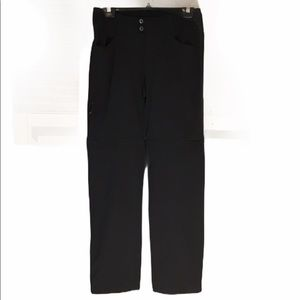 COLUMBIA Omni Shield Convertible Pants Black Sz 8